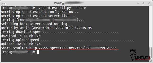 speedtest-cli-share