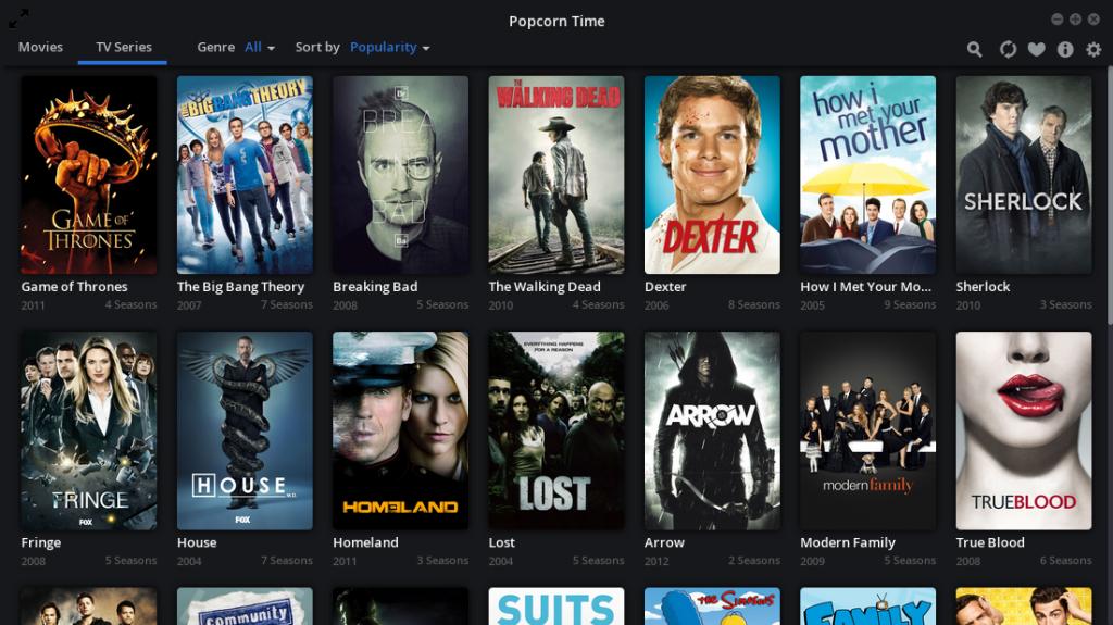 Time 4 Popcorn TV series list