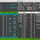 tmux terminal emulator