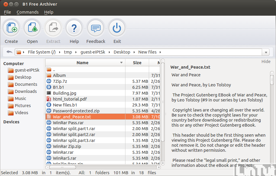 B1 Free File Archiver