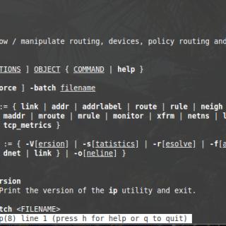 Ip command manual