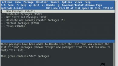 Photo of How to use Aptitude package tool on Debian, Ubuntu and Mint linux
