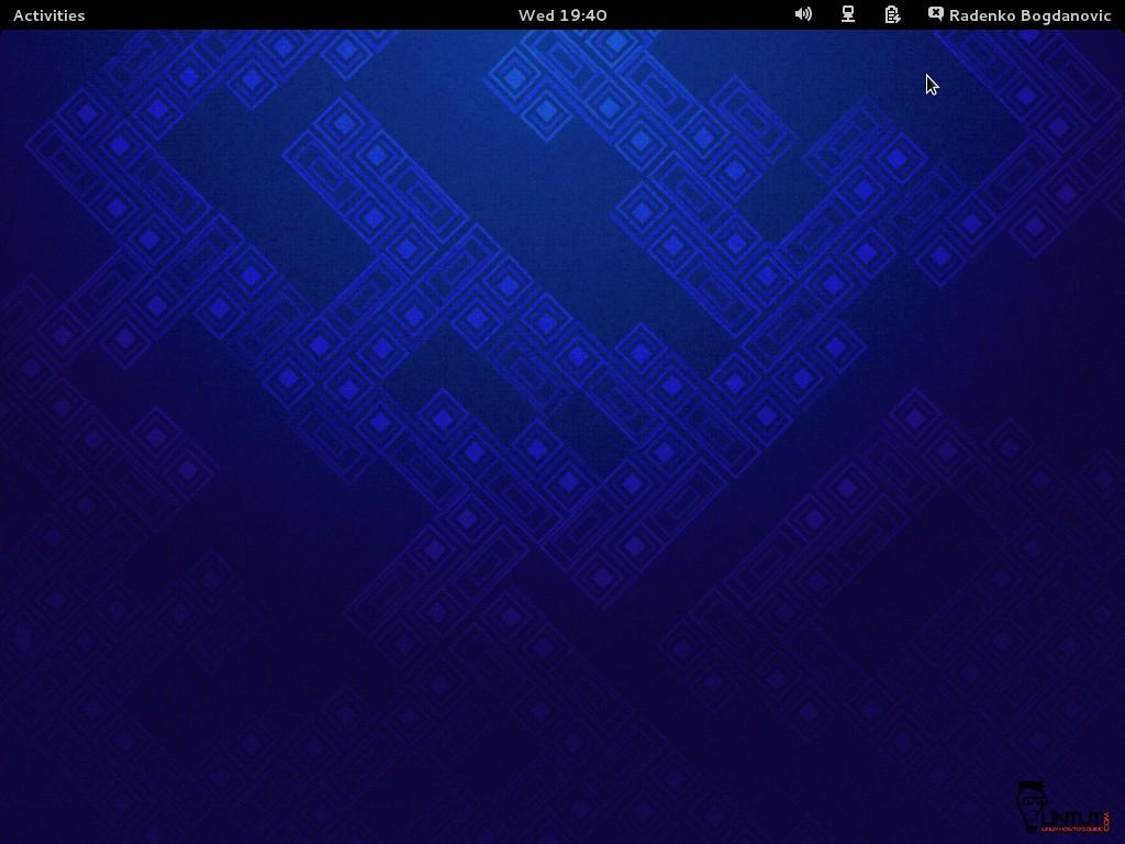 Fedora 19 Desktop