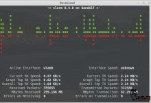 Slurm bandwidth monitoring tool