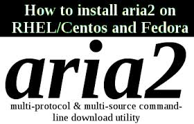 aria 2 command line download manager