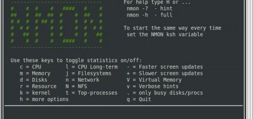 nmon monitoring tool