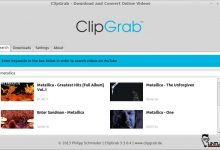 download yourtube video using clipgrab