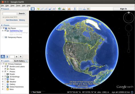 Install Google Earth on Ubuntu and Mint linux