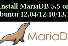 install mariadb on ubuntu