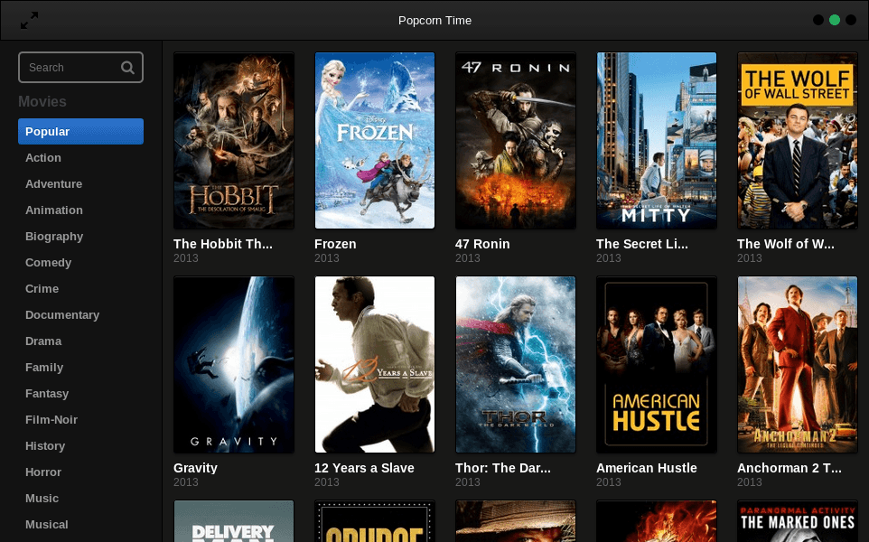 how to download popcorn time on wii
