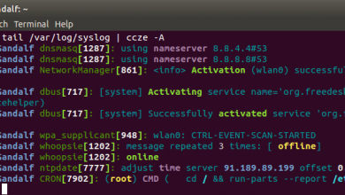 Photo of Colorize log files on CentOS and Ubuntu using ccze tool