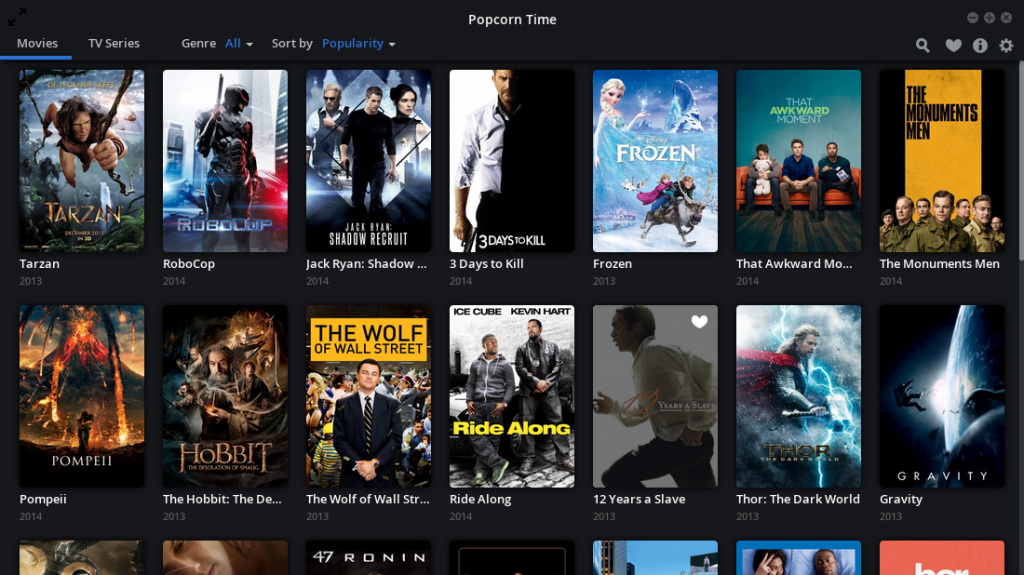 Time 4 Popcorn Movie list