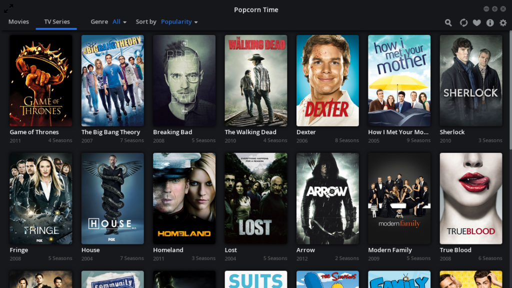 Install Popcorn Time 0 3 10 in Ubuntu and Mint Linux | LinTut