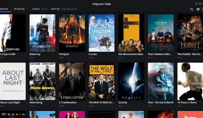 Install Popcorn time from source code in linux