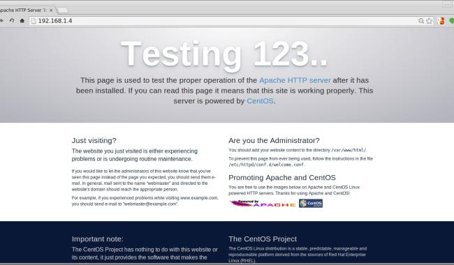 Install Apache/PHP, MariaDB on RHEL/CentOS 7 | LinTut