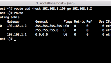 Photo of How to use route command on  RHEL/CentOS Linux