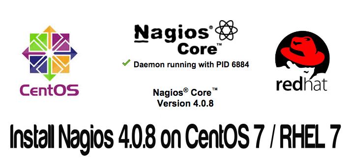 How to install Nagios 4.0.8 on CentOS 7