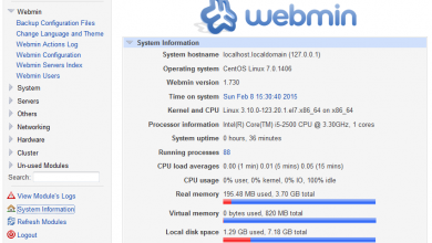 Photo of Install Webmin on Ubuntu 15.04 Server