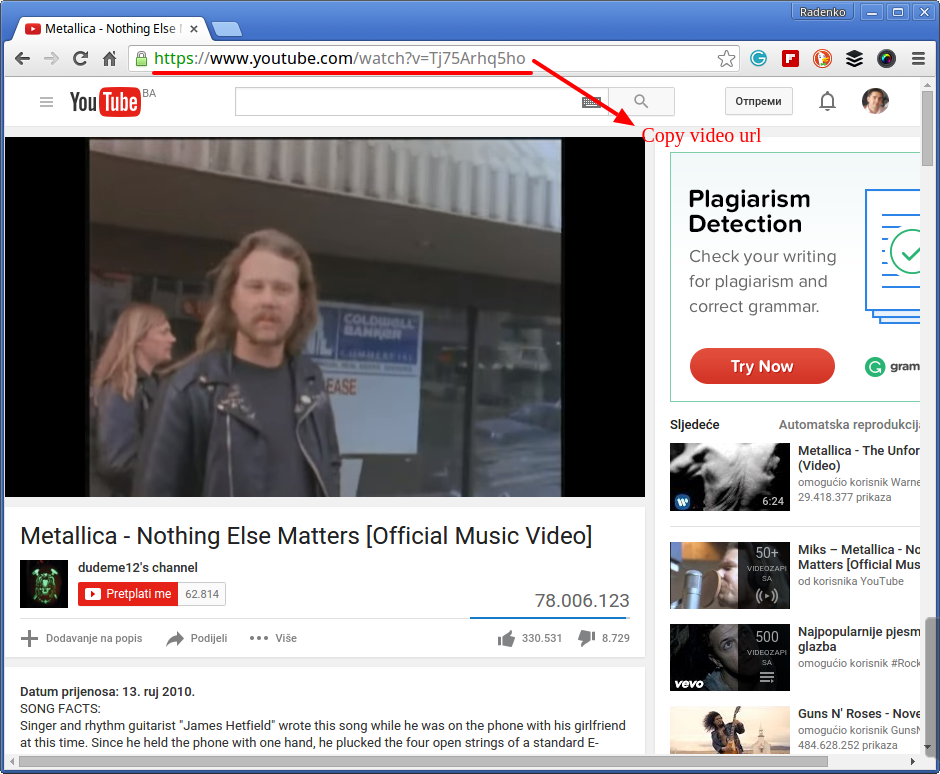 Install and use youtube-dl on Ubuntu 15 10 and Mint 17 x | LinTut