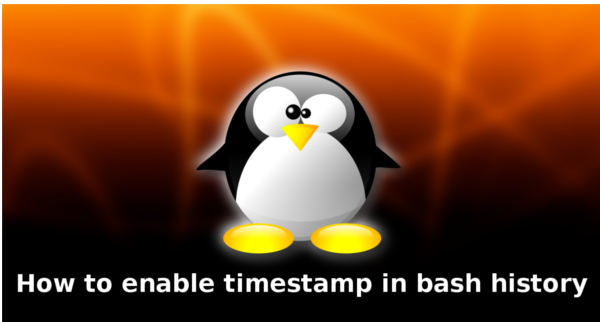 How to enable timestamp in Linux History command
