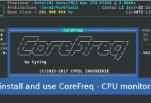 CoreFreq CPU Monitoring tool for linux