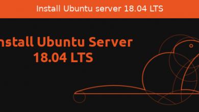 Photo of Install Ubuntu 18.04 Server