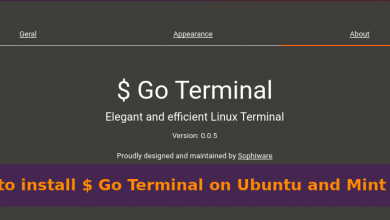 Photo of How to install Go Terminal on Ubuntu or Mint linux