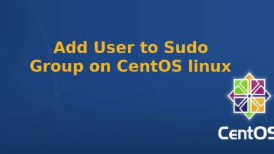 Photo of Add user to sudo group on CentOS linux