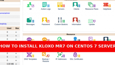 Photo of How to install Kloxo-MR7 in Centos 7 Server
