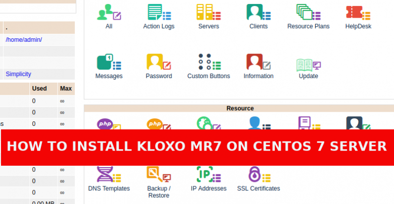 How to install Kloxo-MR7 in Centos 7 Server | LinTut