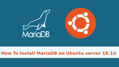 Photo of How to install MariaDB on Ubuntu 18.10