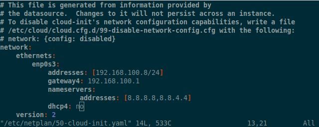 Setup network on Ubuntu 17 10 / 18 04 / 18 10 Server | LinTut