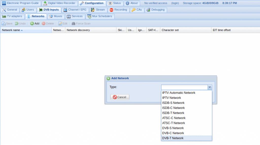 Install tvheadend on Ubuntu 18 04 server | LinTut