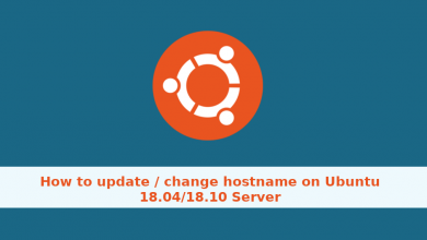 Photo of How to update / change hostname on Ubuntu 18.04/18.10 Server