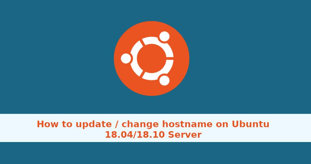 ubuntu 14 04 change hostname