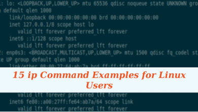 Photo of 15 ip Command Examples for Linux Users