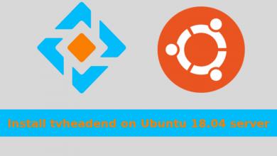 Photo of Install tvheadend on Ubuntu 18.04 server