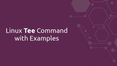 Photo of Linux Tee Command with Examples