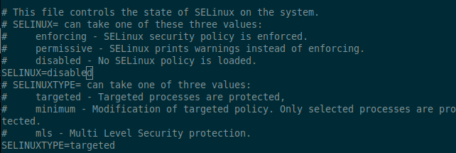 Disable SELinux Permanently
