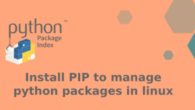 Photo of Install PIP to manage python packages in linux