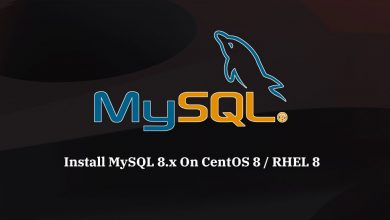 Photo of How to install MySql 8.0 on CentOS 8/RHEL 8
