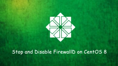 Photo of How to stop and disable firewall on CentOS 8