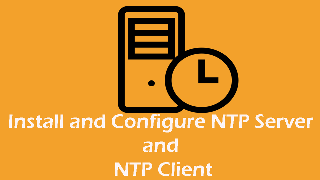 Install NTP (Chrony) On CentOS 8