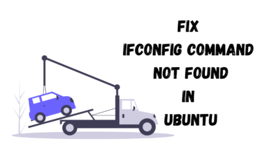 fix ip command in ubuntu